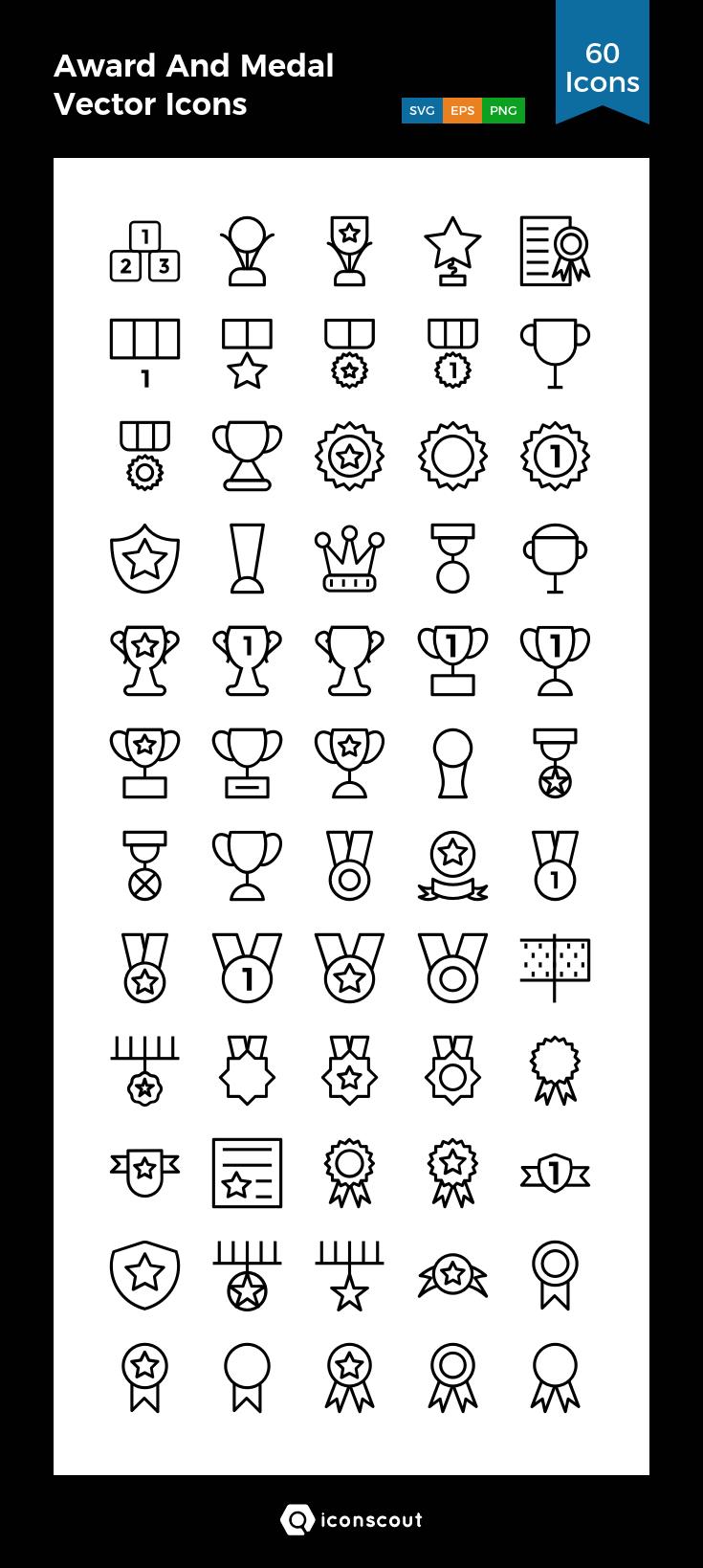 Achievement Award Badge Prize Reward Success Winner Icon Download On Iconfinder Icon Awards Achievement Awards