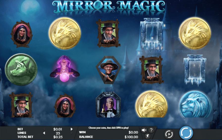 Crystal Mirror Slot Machine