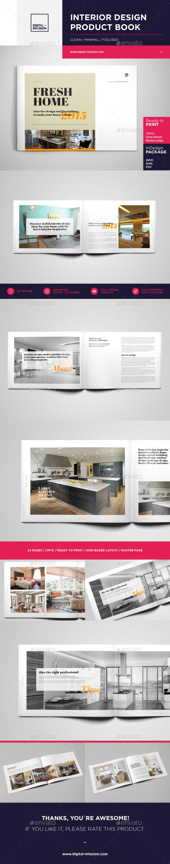 Interior Design Brochure  Catalog  Brochures Catalog And Template