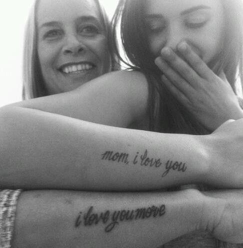 Tatuaggi Mamma E Figlia Scritte