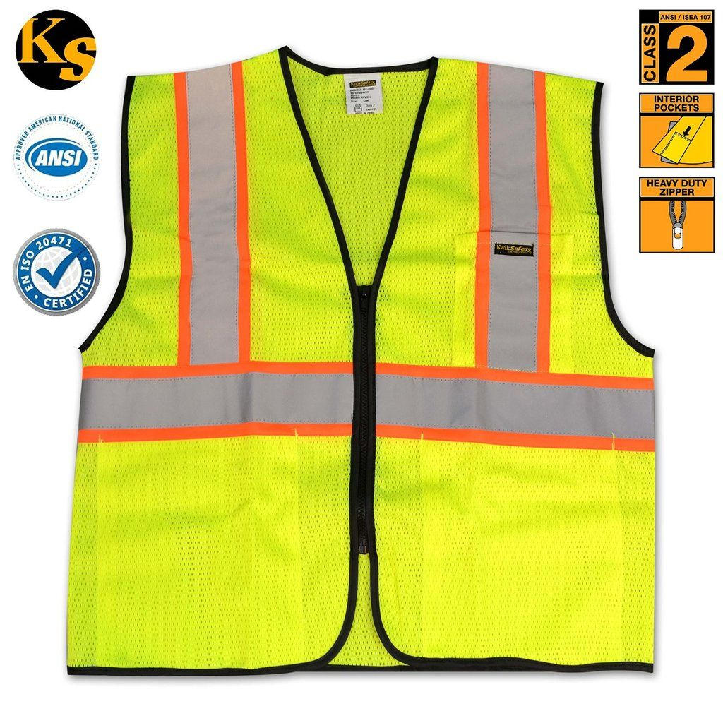 KwikSafety Class 2 Construction Safety Vest