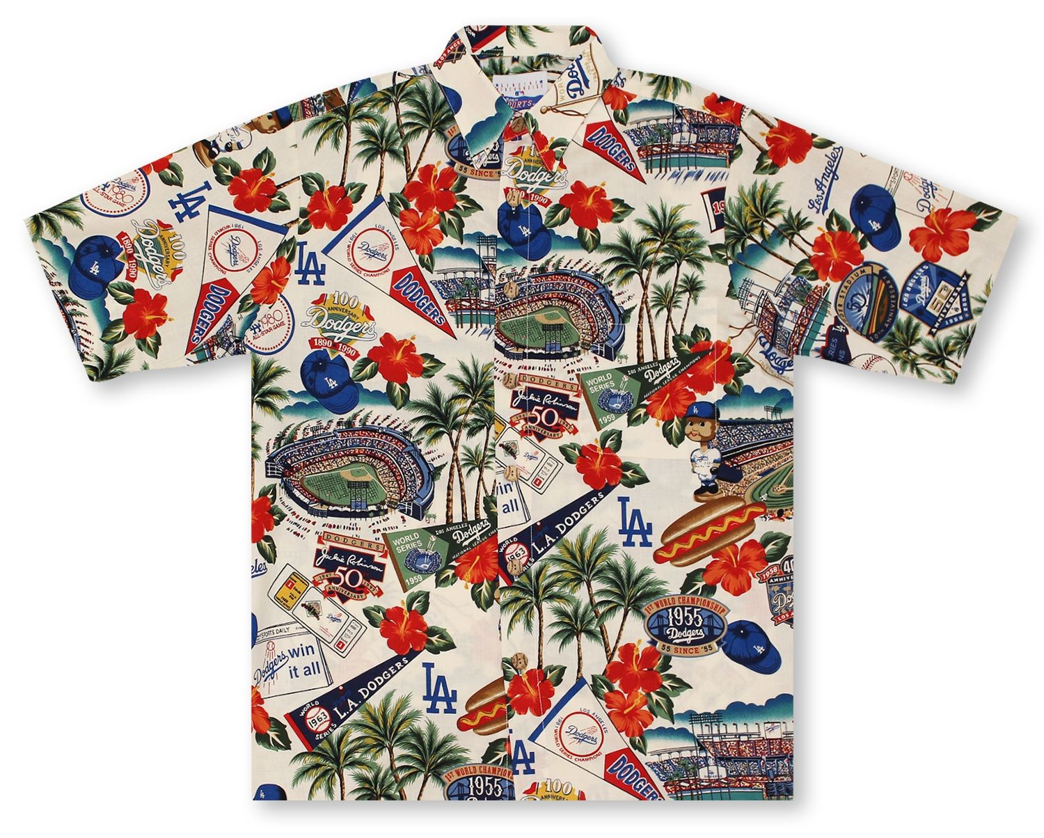 8e0cd9ba Reyn Spooner Hawaiian Shirts From Aloha Shirt Shop | Reyn Spooner MLB Los  Angeles Dodgers 2015 | RSB-43