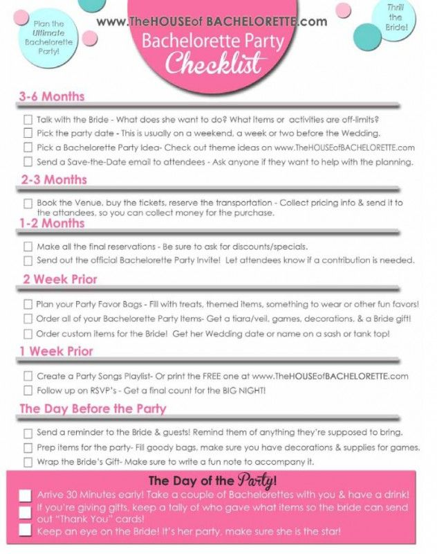 How To Ask For Money Bachelorette Party