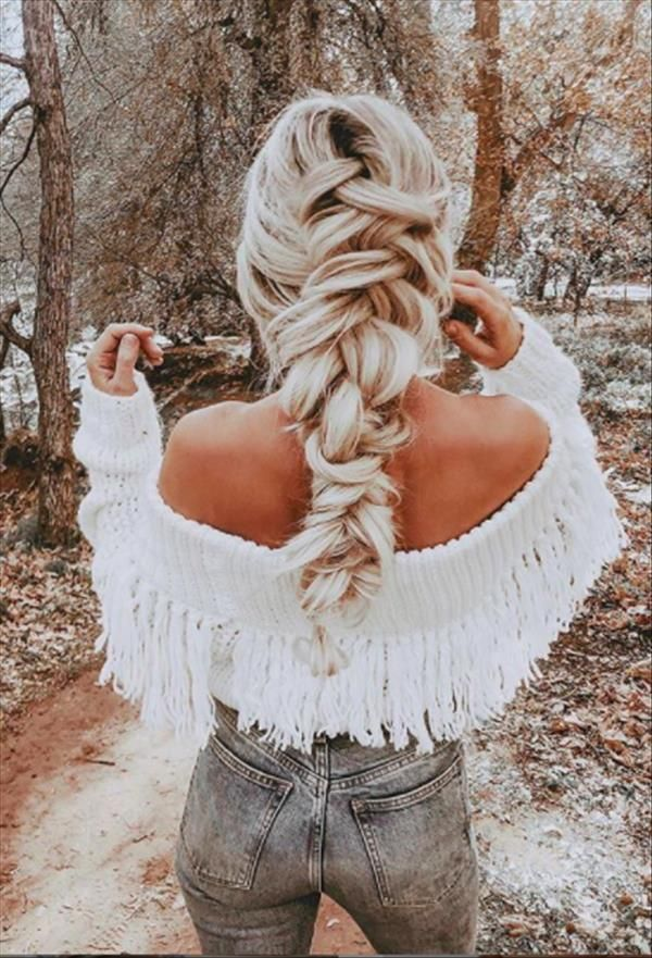 80 Braids Hairstyles for Goddess with Knotless Box and Long Box - The First-Hand Fashion News for Females