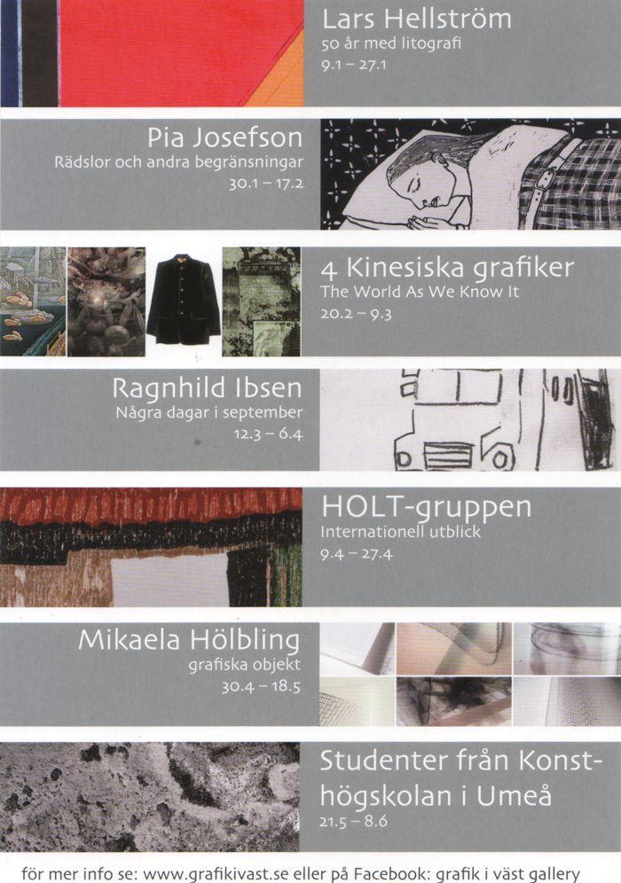 Grafik I Vast - Sweden Spring 2016