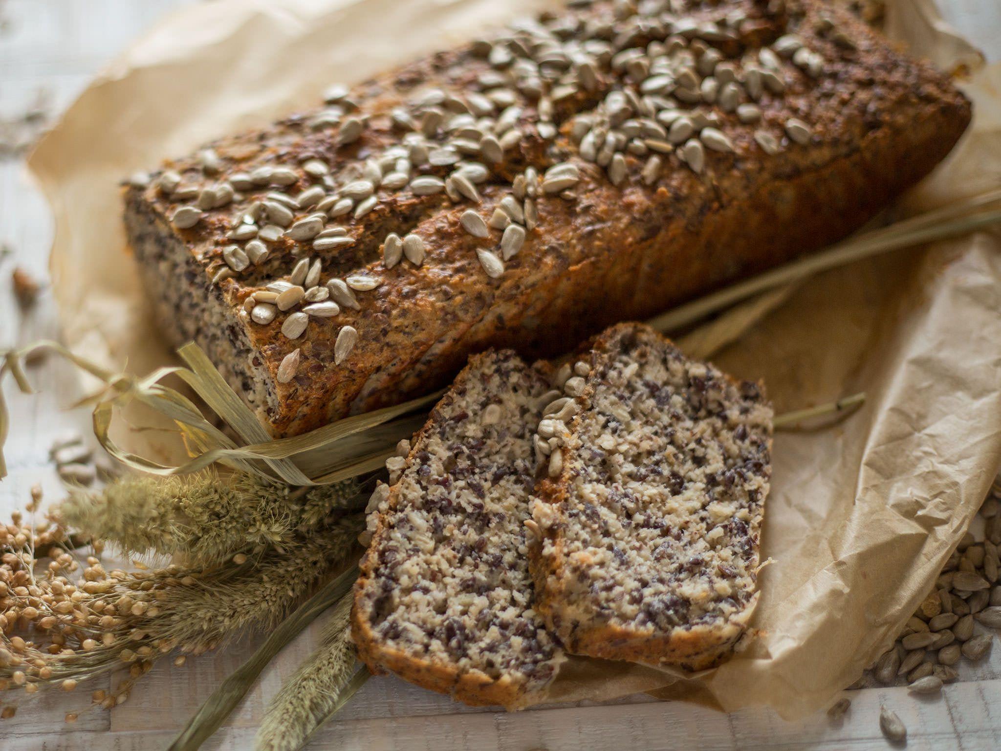 Fitnessbrot Fitness Bread Recipe Healthy Homemade Bread Bread