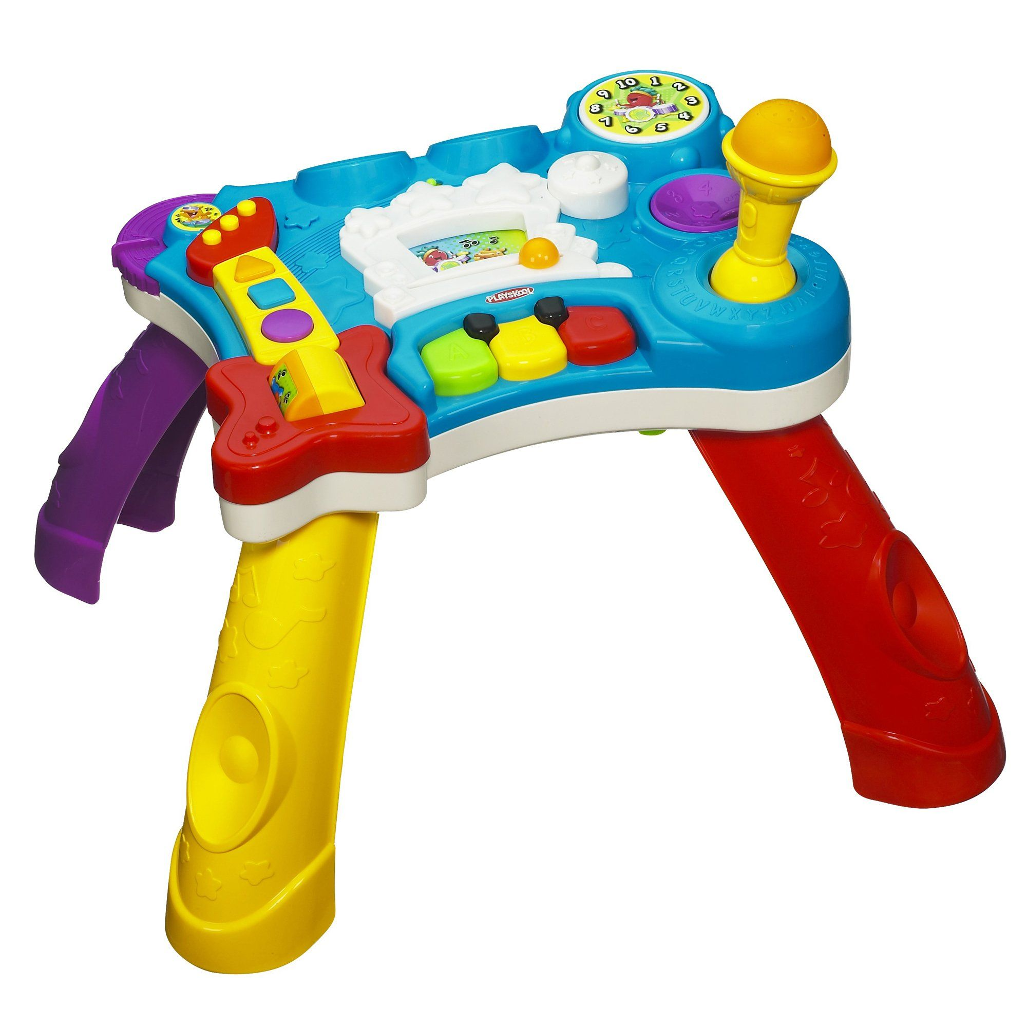 Playskool Rocktivity Sit To Stand Music Skool Toy Our Munchkin Is
