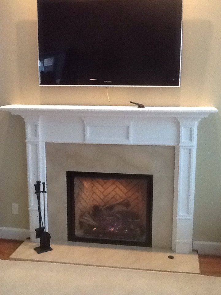 Pin By The Mad Hatter On Fireplaces Tv Above Fireplace Tv Over