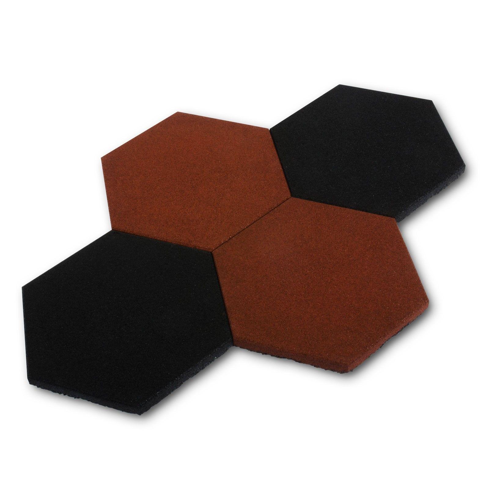 dalle aire de jeux protection anti chute paisseur 23mm noir protection. Black Bedroom Furniture Sets. Home Design Ideas