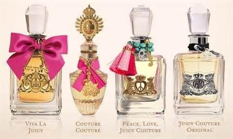 Et mon coup de foudre, les parfums Juicy Couture