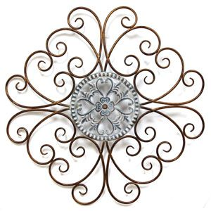 Uttermost Micayla Large Metal Wall Decor 13476 Medallion