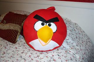 Mommysgreat: Red Angry Bird Pillow