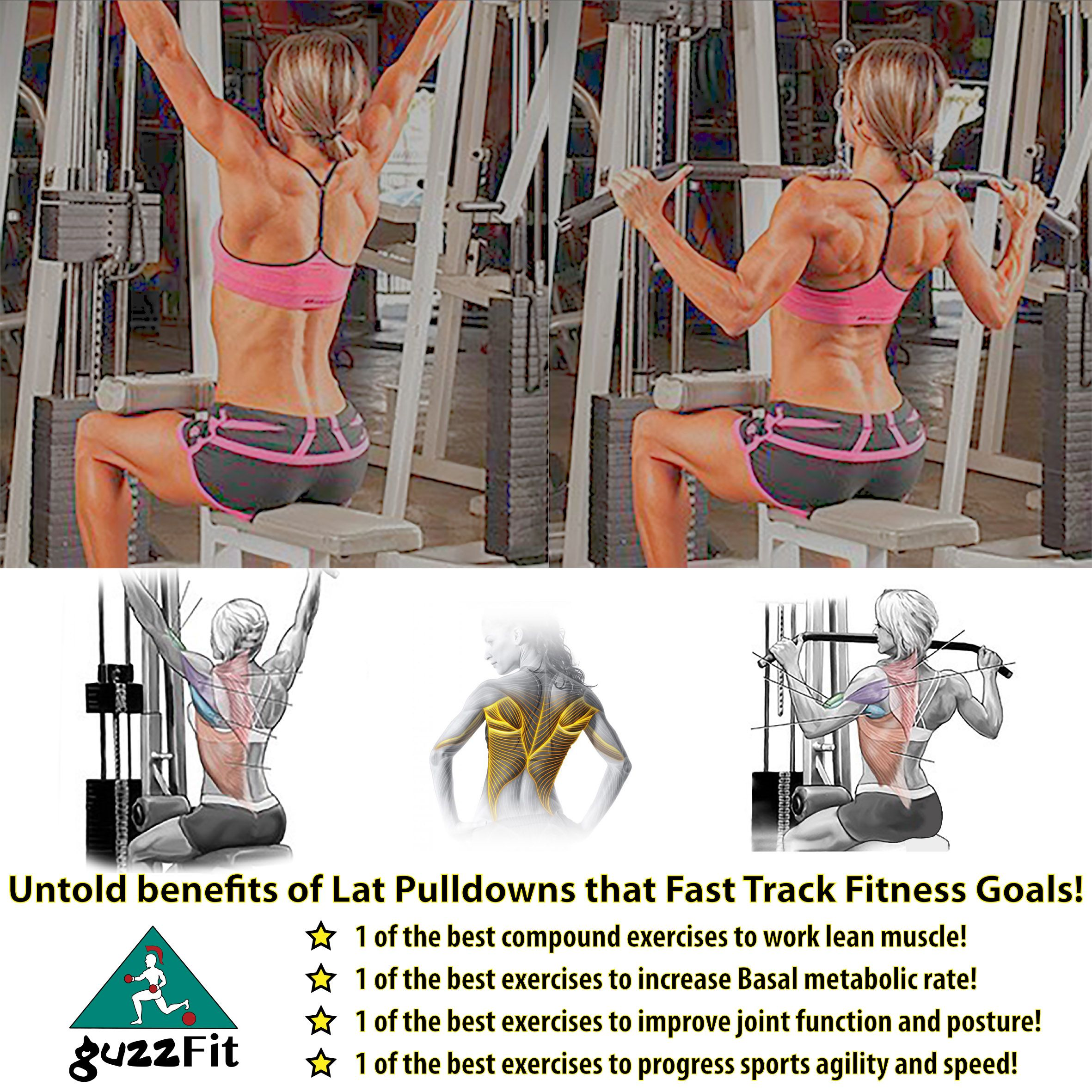 The Lat Pulldown Is 1 Of The Best