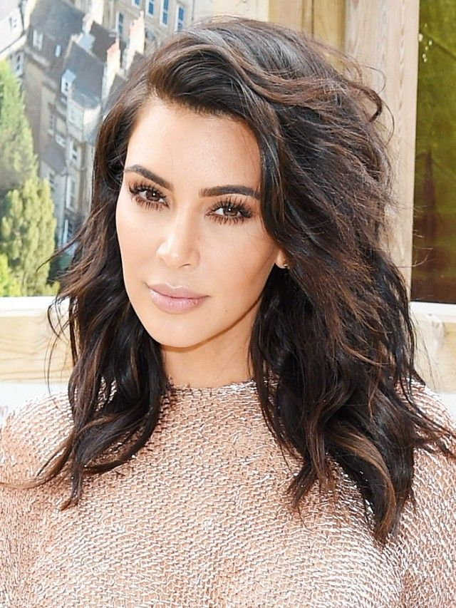 It S Official Kim Kardashian Is Done With Contouring Hair