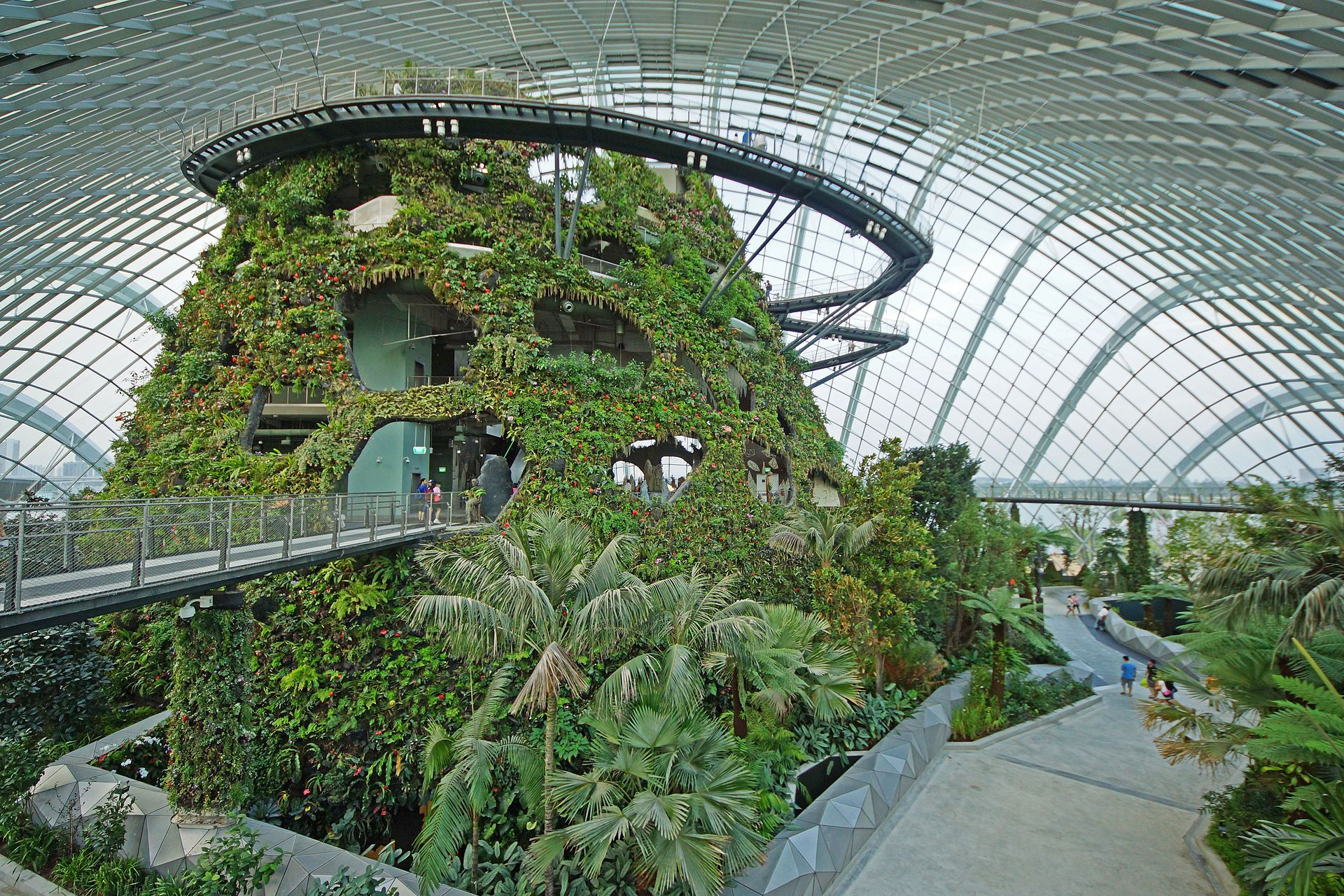 Cloud Forest, Gardens by the Bay, Singapore - Gardens by the Bay -