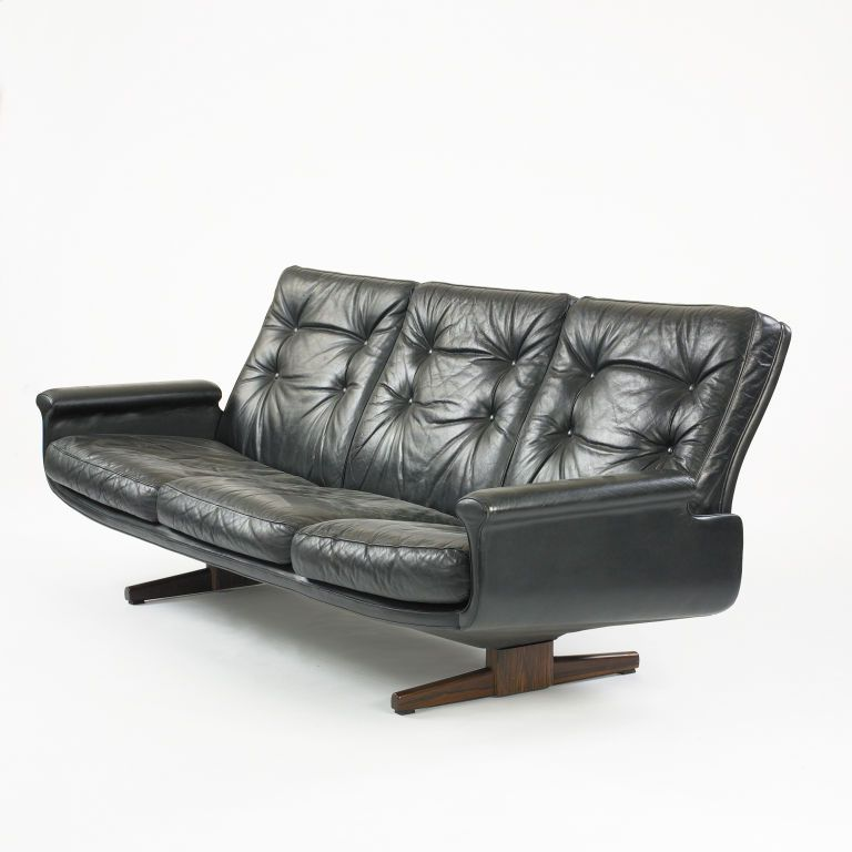 Sofa By Fred Kayser For Vatne Mobler 1stdibs Com Modern Retro Furniture Retro Mid Century Furniture Best Leather Sofa