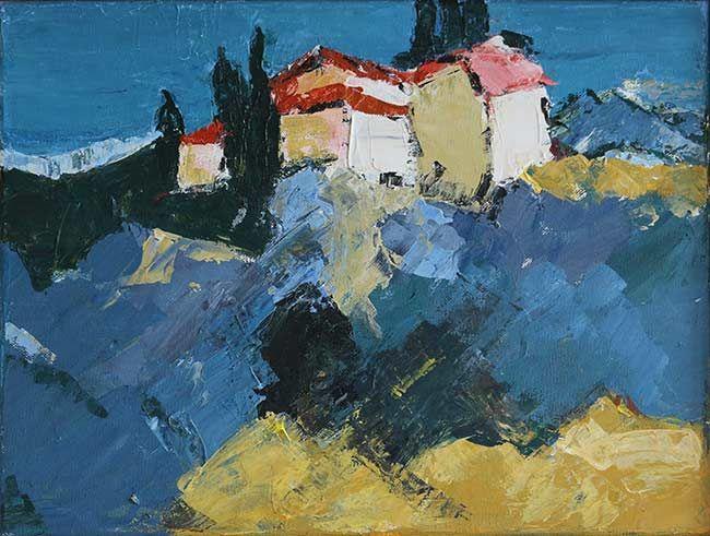 Stance Van Der Meer Painting Art Meer