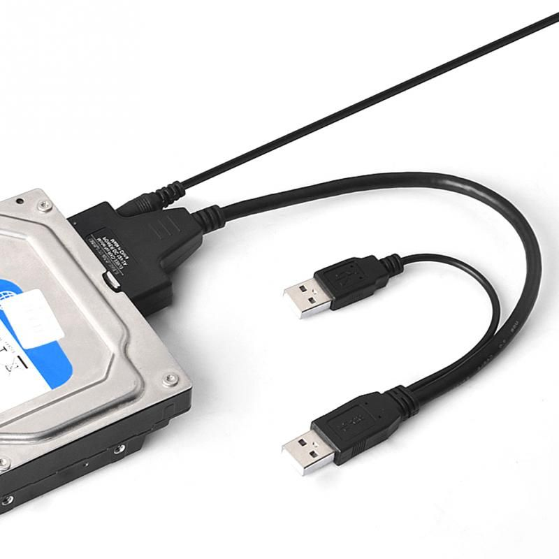Computer Hard Driver Connection Cables 2 5 22p 2 0 Usb To Sata