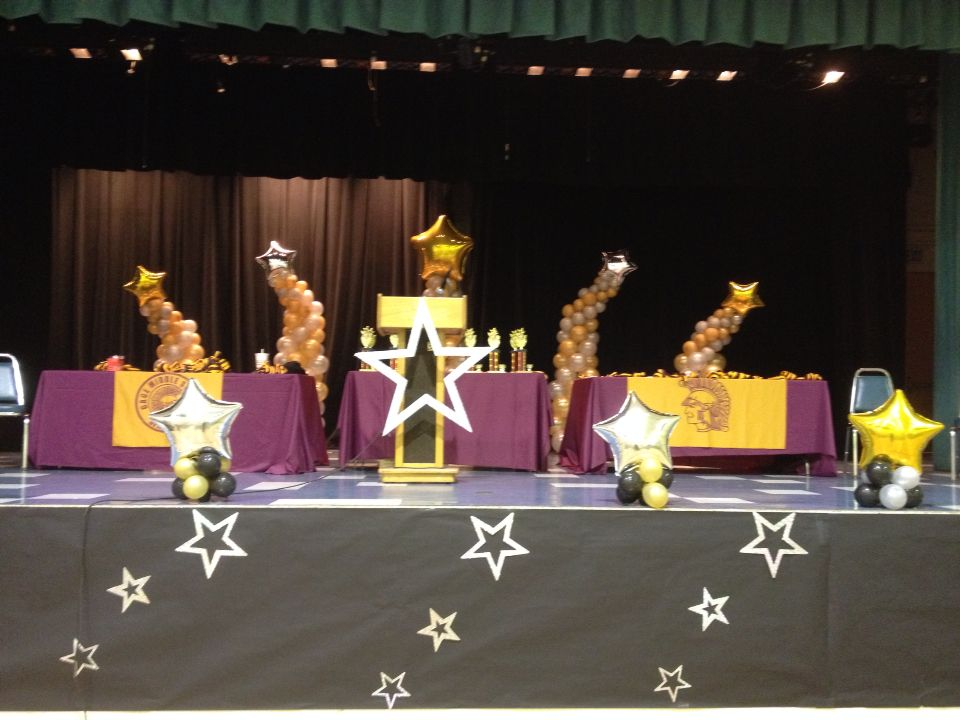 school award ceremony stage decoration every student is