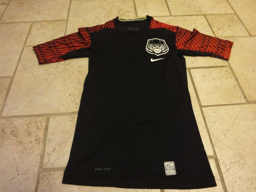 e10d73f680ea 2014 Nike Pro Combat Football Dri Fit Fitted Compression Shirt Small nice   fashion  clothing
