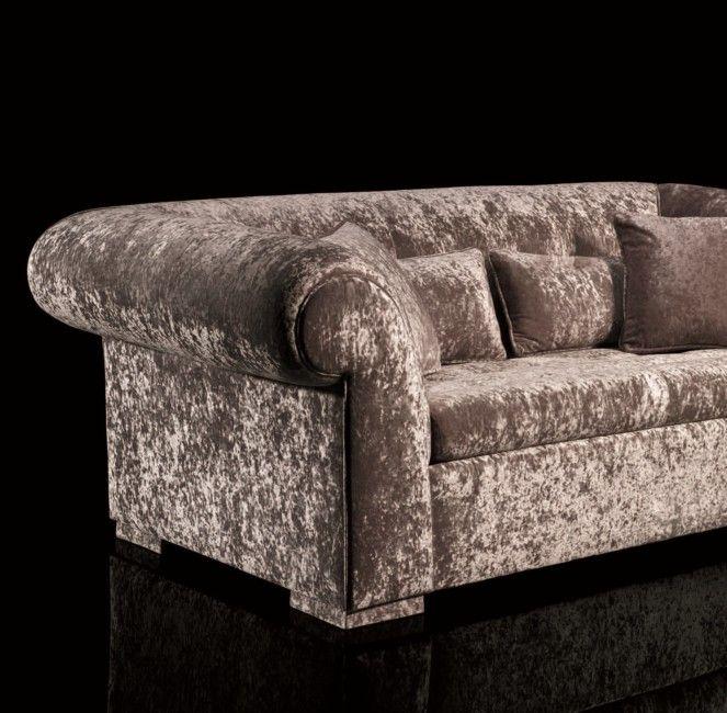 mink crushed velvet sofa  google search  crushed velvet