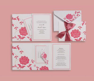 Brides Diy Wedding Invites Wedding Invitations Diy Pink Invitations Beautiful Wedding Invitations