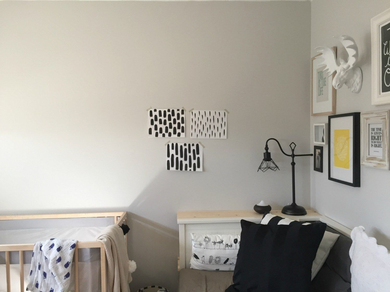 Easy Hand Painted Accent Wall by The Learner Observer for ...