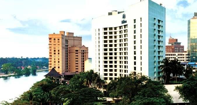 Kuching Hotels Hilton Kuching Kuching Hotel Exterior Kuching Hotel