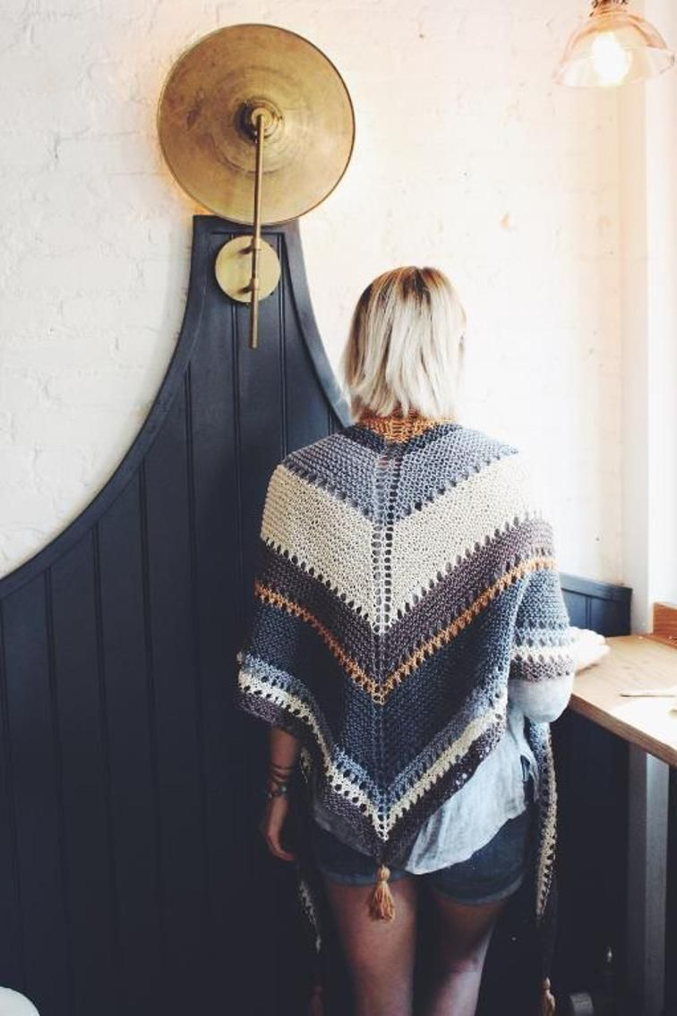 Coffee Shop Wrap Free Downloadable Knitting Pattern | Shawls and ...
