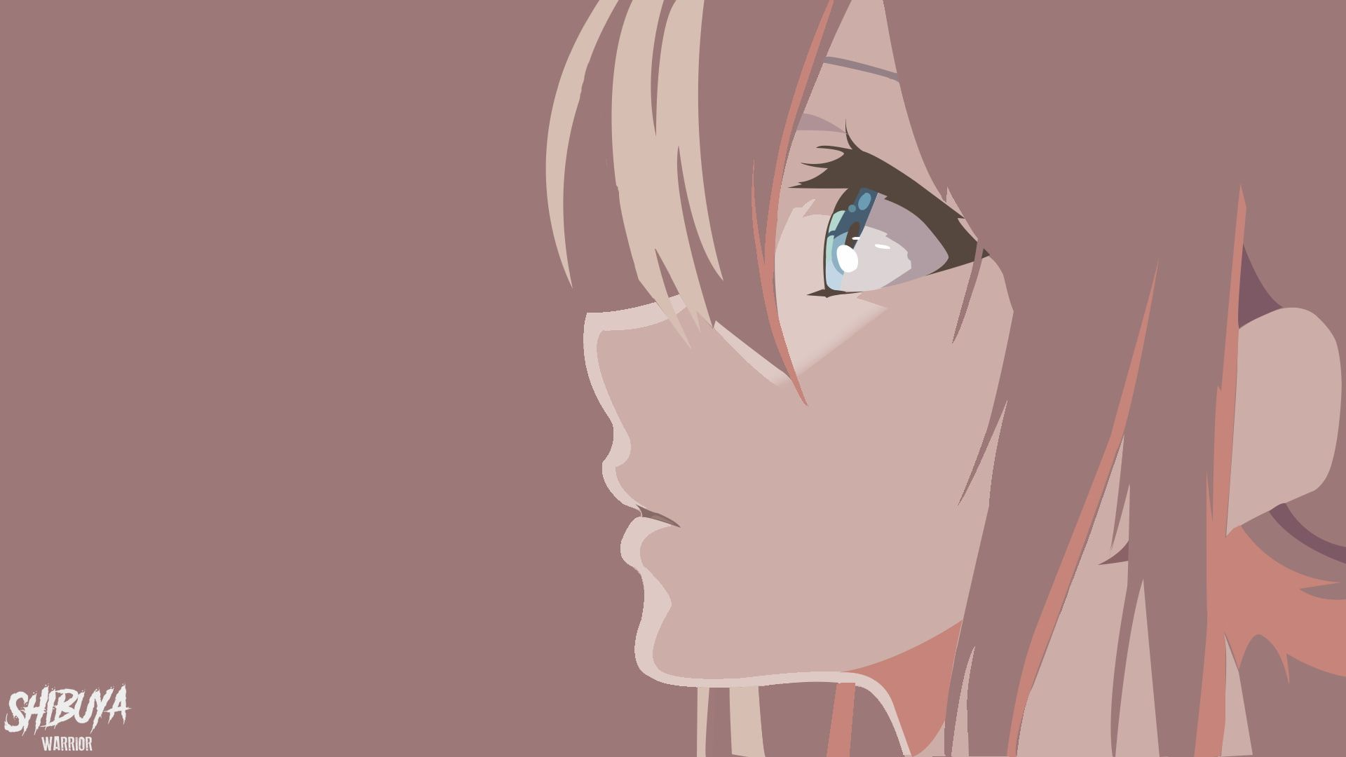 Violet Evergarden Anime Girls Blue Eyes Anime Face Profile Simple Background 1080p Wallpaper Hdwallpape In 2020 Anime Wallpaper Violet Evergarden Wallpaper Anime