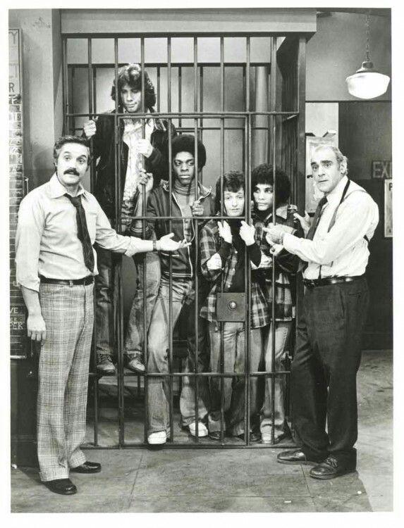 The 12th precinct locks up the Sweathogs.