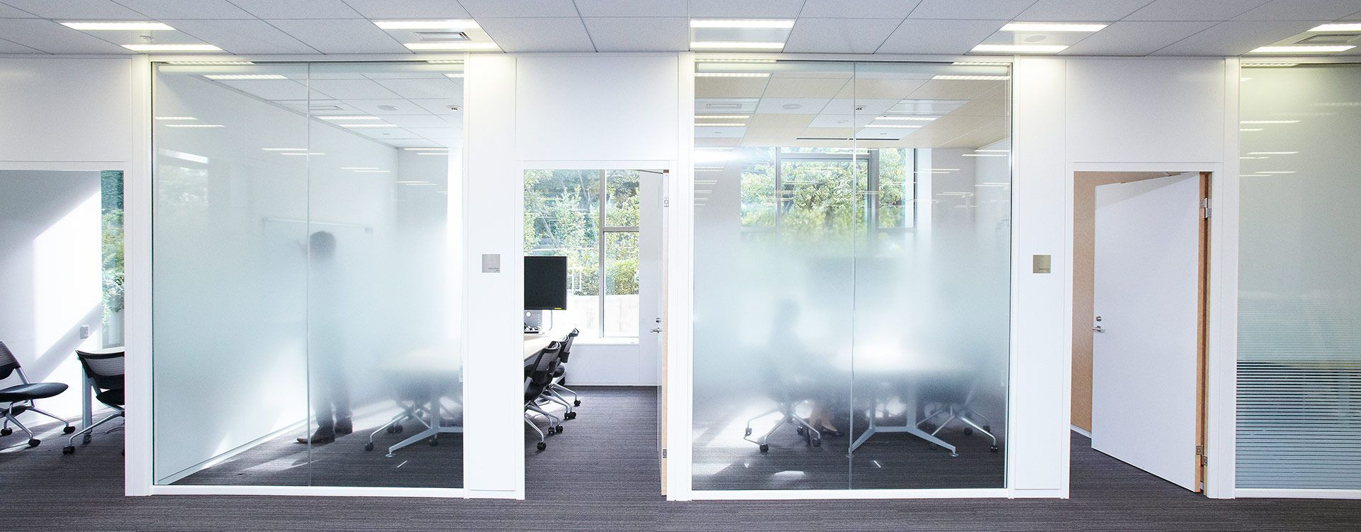 6 strips of DDA dots frosted glass manifestation safety film