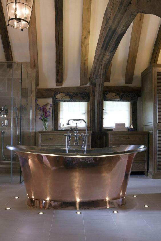 30 Fantastic And Irresistible Bathroom Ideas With Bathtub For The Lavish Bathrooms Country Bathroom Dream Bathrooms Bathtub Remodel