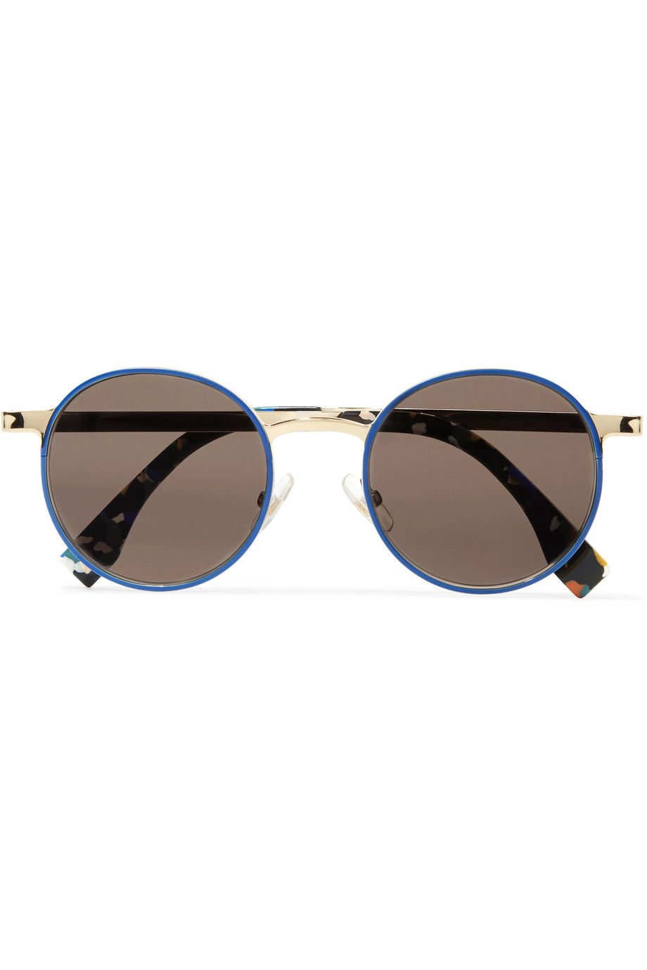 c3ddd79cd98 Shop on-sale Fendi Round-frame acetate and metal sunglasses. Browse other discount  designer Sunglasses   more on The Most Fashionable Fashion Outlet
