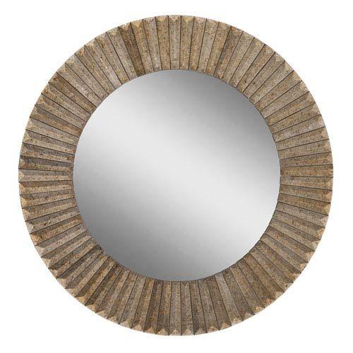 Surya Bronze 28 Inch Round Mirror In 2019 Living Room