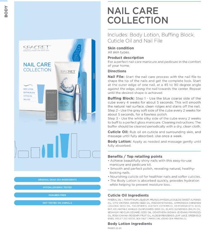 Nail care collection. #seacret