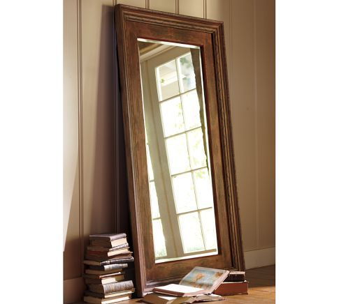 Santorini Painted Floor Mirror Diy Flooring Oversized Floor Mirror Floor Mirror