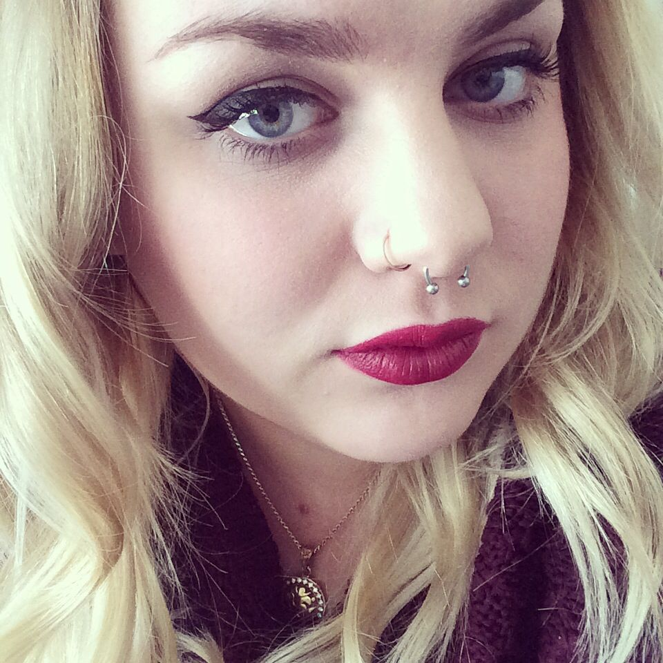 Cute nose piercing  Septum piercing  Nose piercing  Pinterest  Piercings Cute nose