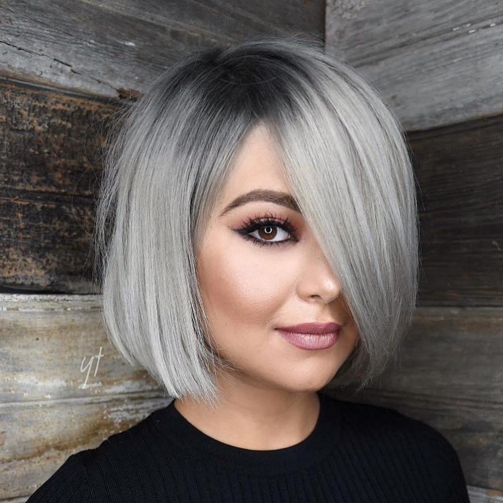 40 Stylish and Sassy Bobs for Round Faces | Beauty ...
