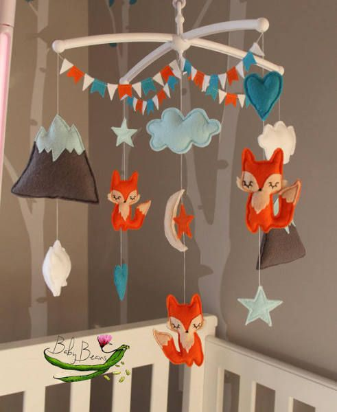 Make Woodland Baby Mobile
