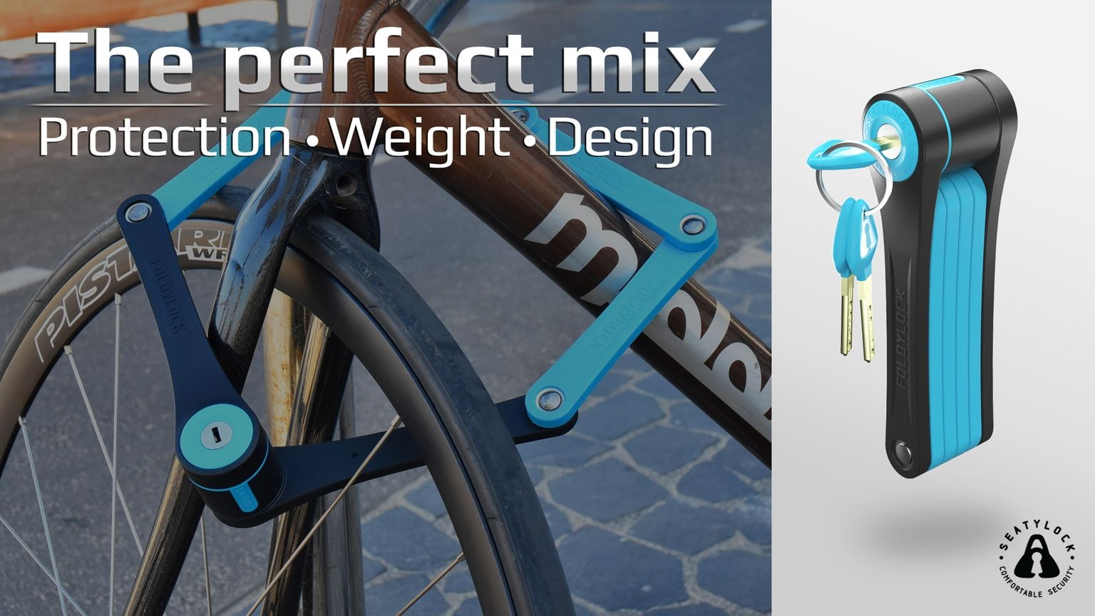 A Premium Folding Bike Lock Features The Perfect Mix Between