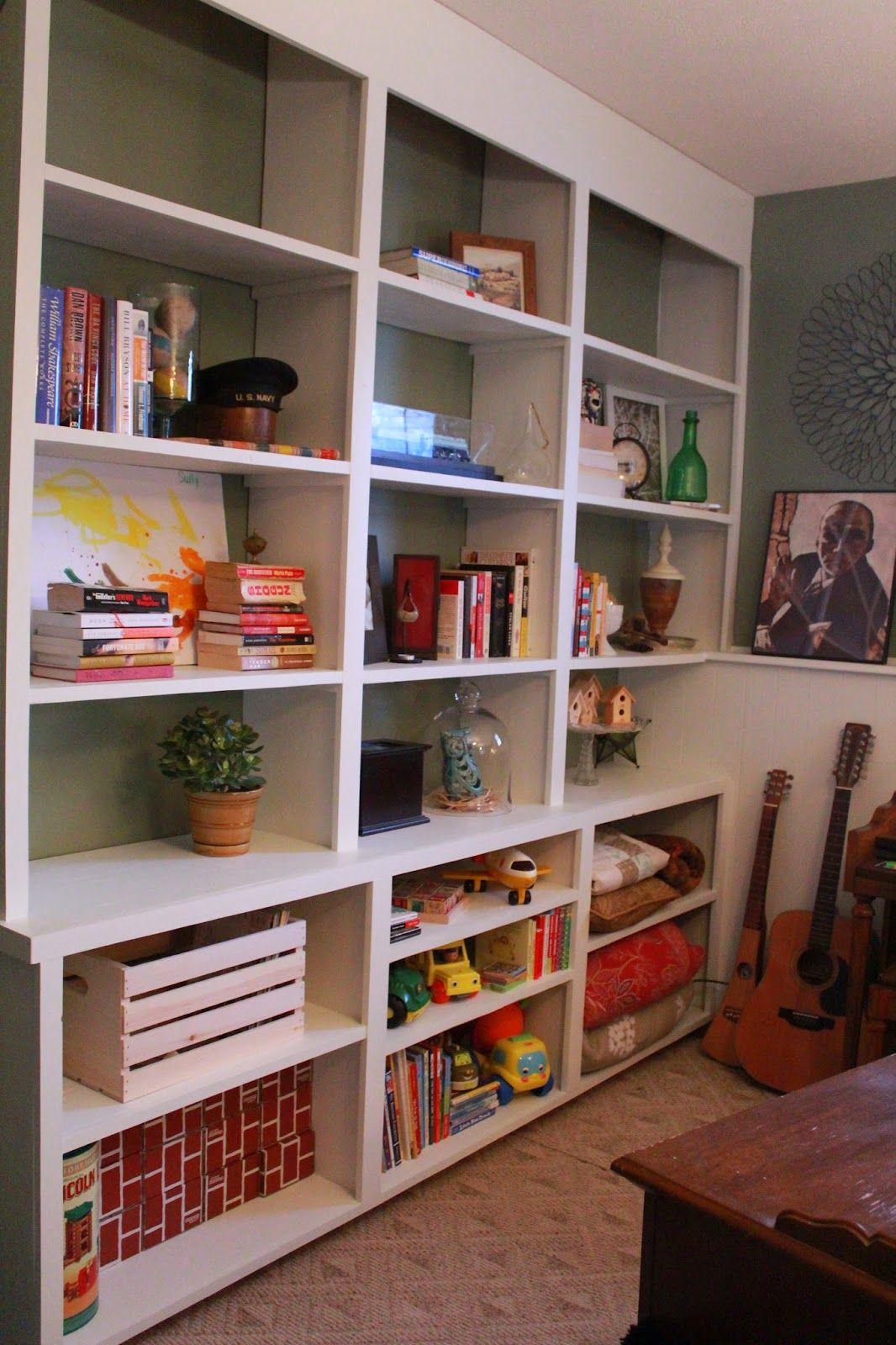 Making Our Nest: Shelf reveal