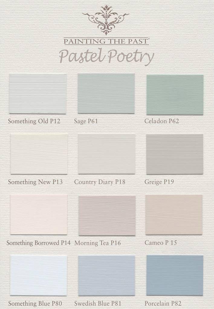 painting the past nuancier peinture la craie pastel poetry painting the past pastel. Black Bedroom Furniture Sets. Home Design Ideas
