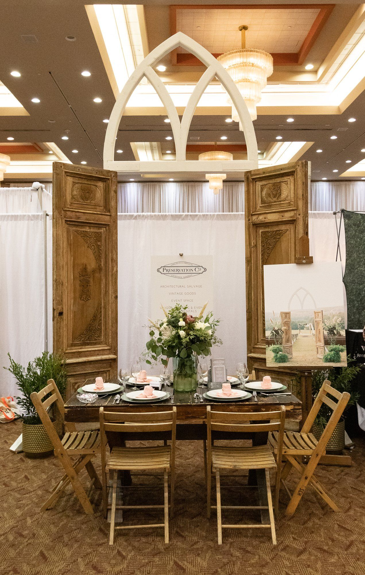 Event Space and Fixture Rentals Preservation Company in