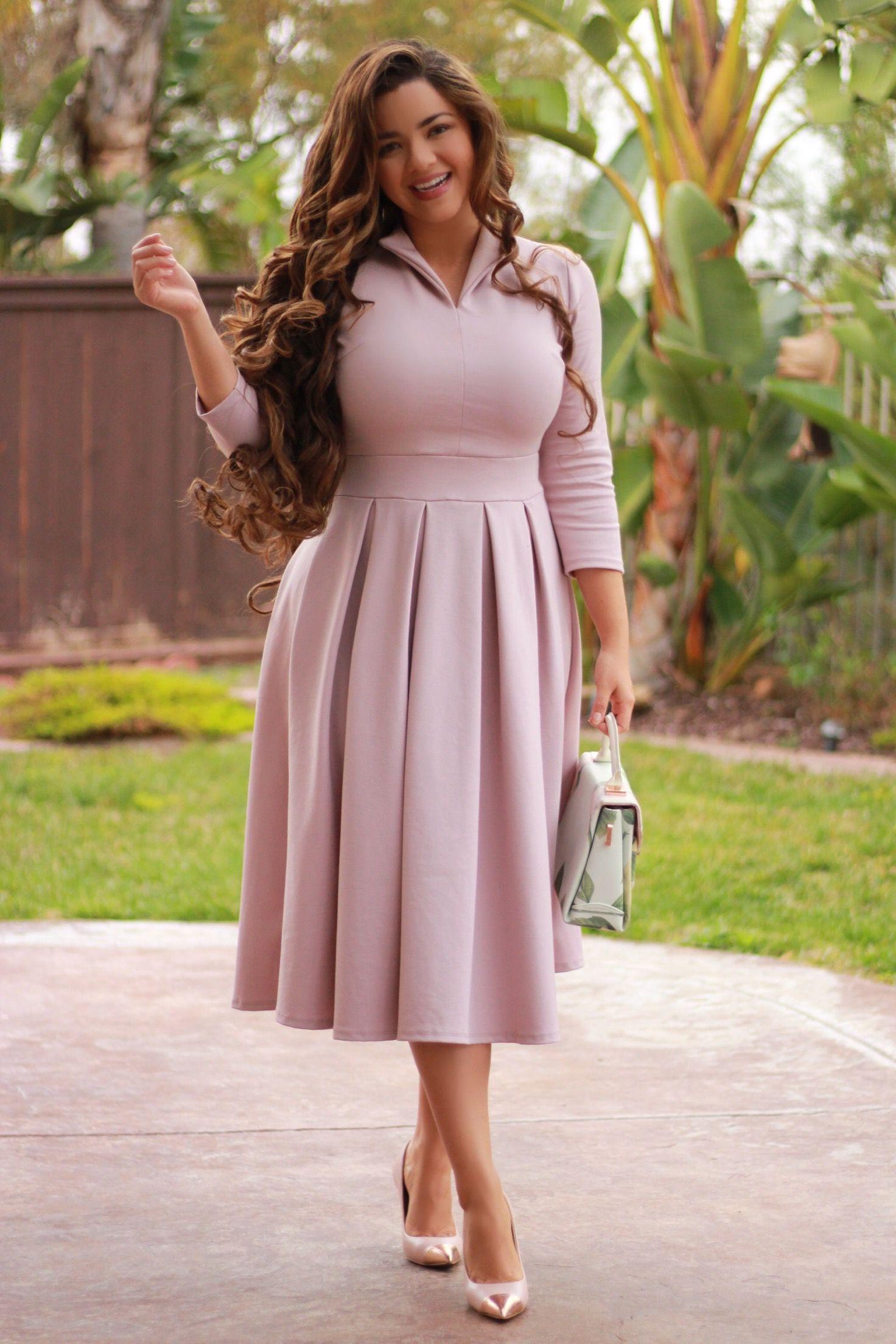 Santorini Lavender Dress Fashion Dresses Plus Size Fashion Modest Dresses