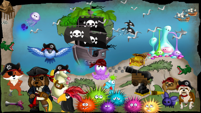 Want To Hunt For Treasure Have Fun With Virtual Pets And Make New Friends At The Same Time Pets N Friends Is The Animals Friends Animal Games Virtual Pet