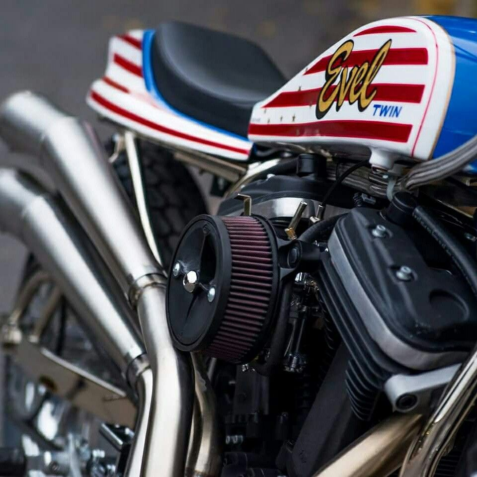 Pin by chefrdave50 on Evel Twin Street Tracker Gas tanks
