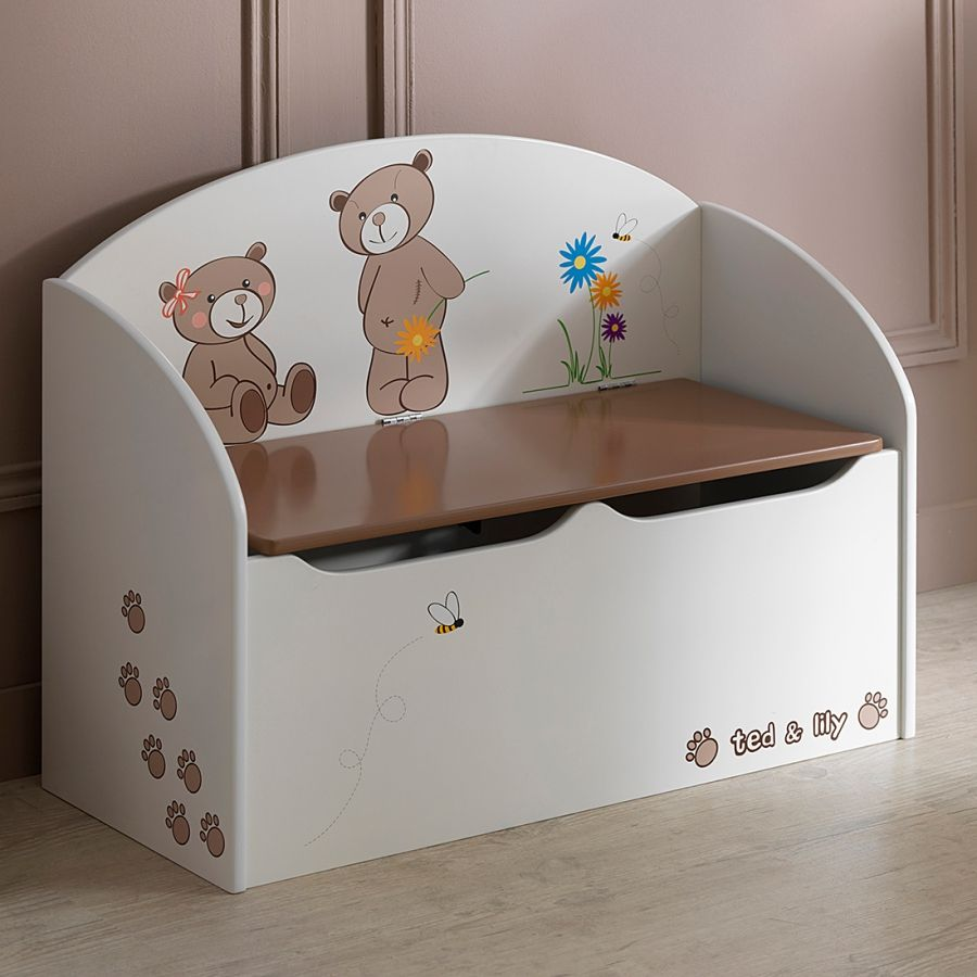 Coffre A Jouets Ted Acheter Home24 Rangement Enfant Coffre A Jouets Coffre De Rangement Enfant