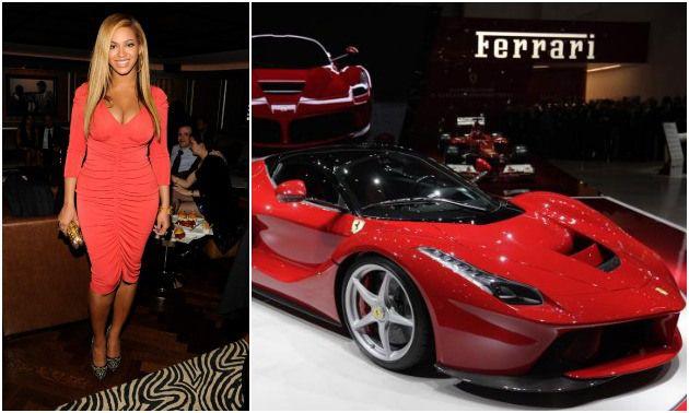 Beyonce &Ferrari