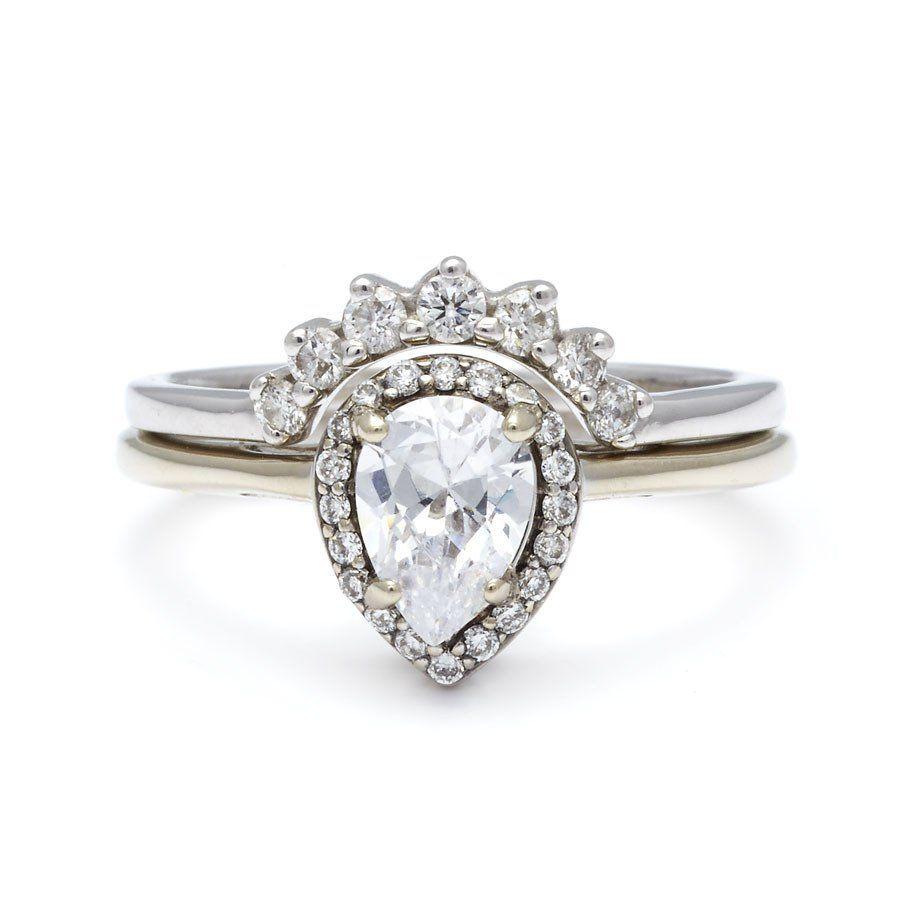 Wedding Rings Nyc Unique Engagement Black Diamonds Rose Gold Bridal White Yellow Designer Bands Commitment